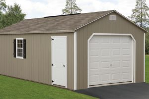14x24 One Car Garage Fisher Structures