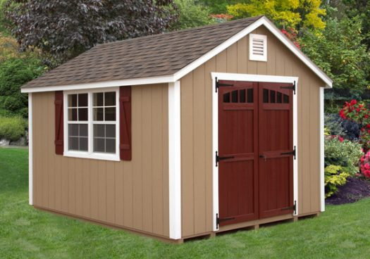 10x12 Frontier Cottage Outdoor Shed