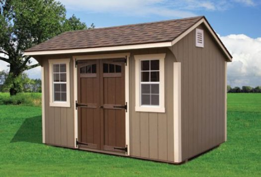 8x12 Quaker Storage Shed
