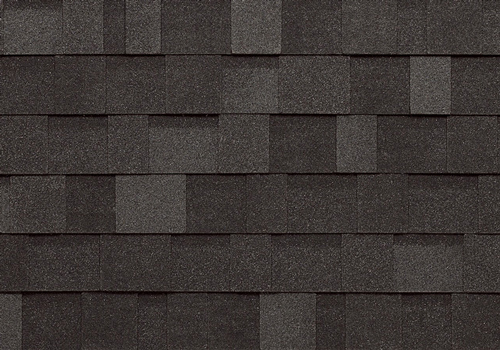 dual black shed shingles