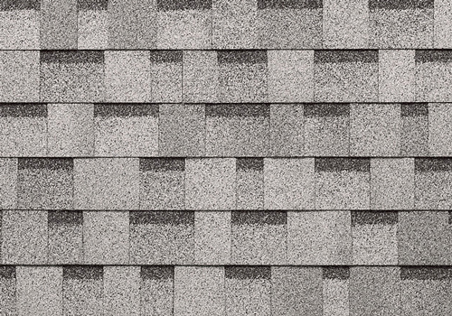 dual gray shed shingles