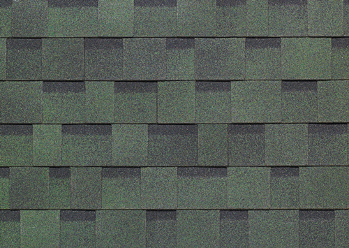 forest green shed shingles
