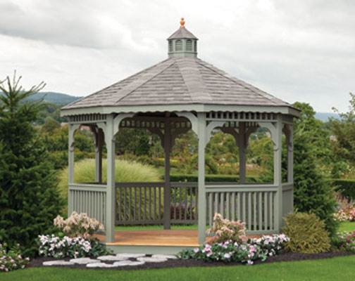 14' Wood Octagon Gazebo