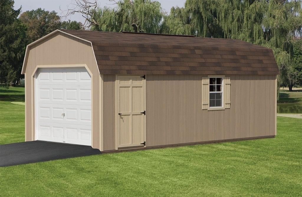 12 x 24 Barn style garage