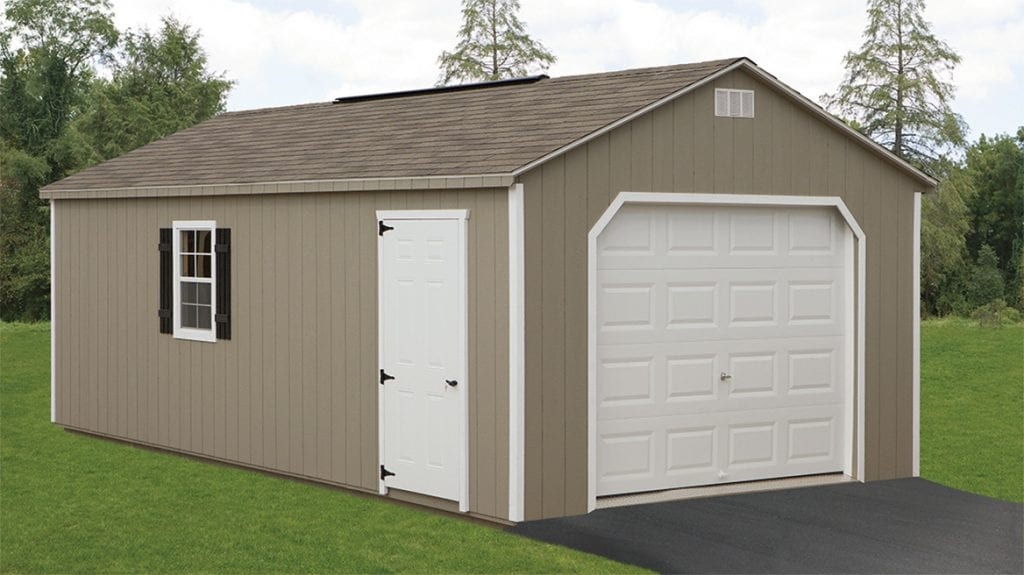 14 x 24 Shed style garage